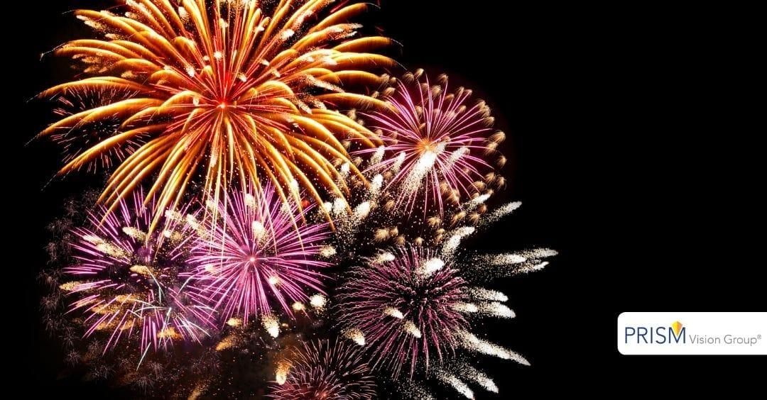 Fourth of July Fireworks Eye Safety